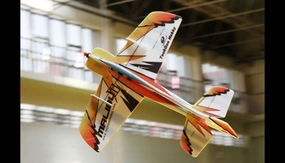 Tech One RC 4 Channel Malibu 3 Aerobatic 3D EPP Almost Ready to Fly Plane RC Remote Control Radio