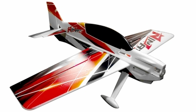 Nitroplanes RC 4 Channel Ninjato EPO Aerobatic Plane KIT RC Remote Control Radio