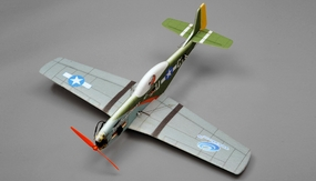 Tech One RC 4 Channel P51  EPP ARF Version Plane kit + T2208 motor + ESC + servo + propeller