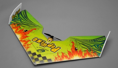 Tech One RC 4 Channel Pop Wing  EPP ARF Version  Plane kit + T2208 motor + ESC + servo + propeller