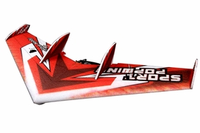 Tech One RC 4 Channel Sportwing EPP ARF Version Plane + T2208 motor + ESC + servo + propeller (Red) RC Remote Control Radio