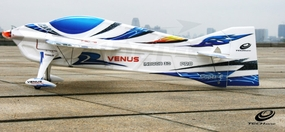 Tech One RC 4 Channel Venus EPO ARF Version Plane kit +AT2206 V2 motor + T10A ESC + DT55 servo + propeller (Blue)