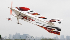 Tech One RC 4 Channel Venus EPO RC Airplane Kit Version (Red) RC Remote Control Radio