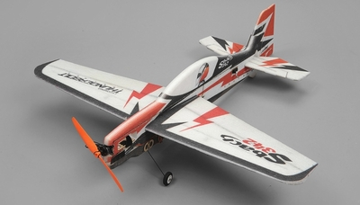 Tech One Sbach 342 900mm Wingspan RC 4 Channel EPP KIT Plane RC Remote Control Radio