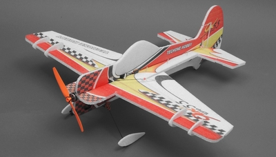 Tech One RC Yak 55 EPP 3D 4 Channel Plane Almost Ready to Fly RC Remote Control Radio