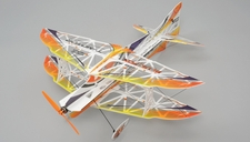 TechOne Blue Fox 4 Channel RC Depron RC Airplane KIT w/ Motor