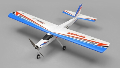 TechOne Saturn 4 Channel RC EPO Airplane Kit (Blue)