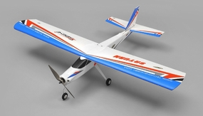 TechOne Saturn 4 Channel RC EPO Airplane Kit (Blue) RC Remote Control Radio