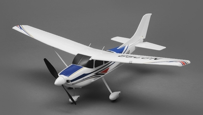 Tex RC 182 Sky Trainer 3 Channel Almost Ready to Fly Wingspan 700mm RC Remote Control Radio