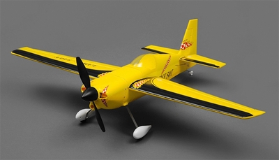 Tex RC Edge 540 Aerobatic Airplane 4 Channel Almost Ready to Fly  Wingspan 700mm RC Remote Control Radio
