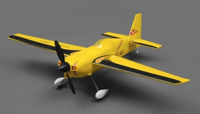 Tex RC Edge 540 Aerobatic Airplane 4 Channel Ready to Fly RTF 2.4ghz Wingspan 700mm RC Remote Control Radio