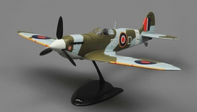 Tex RC  Spitfire Mini Warbird 4 Channel Ready to Fly 2.4ghz Wingspan 650mm RC Remote Control Radio