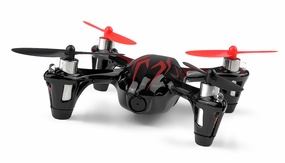 The Hubsan X4 HD Camera 2.4ghz 4 Channel Mini R/C Quadcopter (Black)