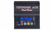 Thunder AC6 Smart Balance LiPo/Nimh Charger/Discharger w/ AC Adapter for 1-6 Lipo/ 1-15 Nimh w/ USB to PC Software Thunder-AC6-Charger-Power