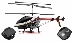 UDI U12A RC 3 Channel Helicopter Metal Version Electric w/ Camera with 4GB Memory card RC Remote Control Radio