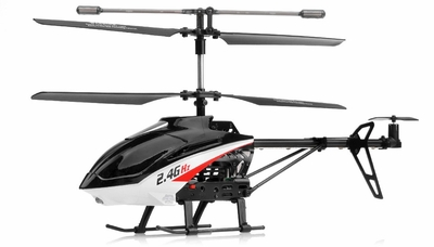 UDI U13 3 Channel Co-Axial Helicopter w/ Gyro 2.4Ghz RC Remote Control Radio