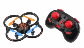 UDI U207 6-Axis UFO Intruder Mini RC Quadcopter Drone Ready to Fly 2.4ghz (Black) RC Remote Control Radio