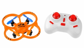 UDI U207 6-Axis UFO Intruder Mini RC Quadcopter Ready to Fly 2.4ghz (Orange)