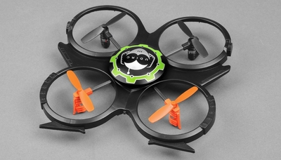 "UDI U816A 4 Channel Mini 6"" UFO Quadcopter 2.4GHz Ready to Fly RC Remote Control Radio"