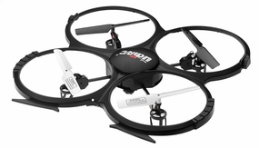 UDI U818A 4CH QuadCopter Drone 2.4ghz Ready to Fly w/ Camera RC Remote Control Radio