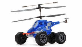UDI U821 3.5ch Missile Launching Air and Ground Assault Vehicle (Blue)