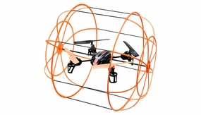 UDI U828 4 Channel Caged QuadCopter 2.4ghz Ready to Fly (Orange)