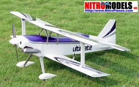 Ultimate BiPe 40 - 41.5 Scale Nitro Gas Radio Remote Control Aerobatic Airplane (ARF) BiPlane