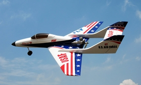 "USAF Super Falcon 120 - 63"" Nitro Powered Radio Controlled Jet ARF"