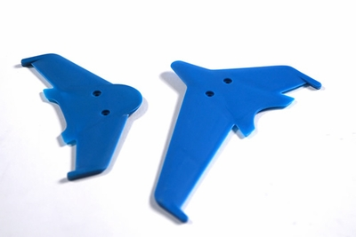 Vertical & horizontal tail blade set(blue)