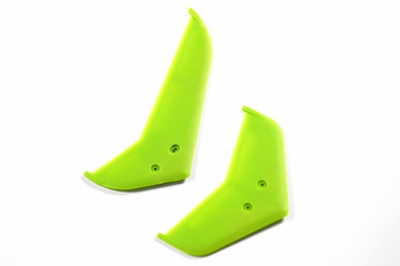 Vertical & horizontal tail blade set((Green))