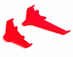 Vertical & horizontal tail blade set(red)
