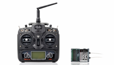 Walkera DEVO 10 Radio System RC Remote Control Radio