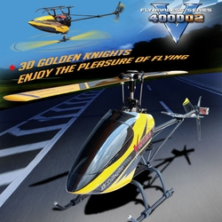 Walkera HM V400D02 2.4Ghz Flybarless Series RTF Ready to Fly Helicopter w/ Auto Stabilizing Gyro/ Digital Transmitter RC Remote Control Radio