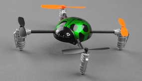 Walkera Ladybird V2 Devo 4 Ready to Fly RC Mini Quad 4 Channel RC Remote Control Radio