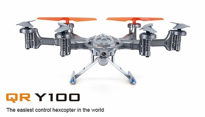 Walkera QR Y100 Wi-Fi FPV Mini Hexacopter IOS and Android Compatible