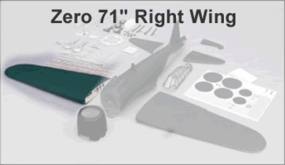 Wing set - Zero (90) RIGHT Wing CMP-Zero120-Wing-RIGHT