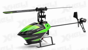 WL Toy Sky Dancer V955 Flybarless 4 Channel RC Helicopter Ready to Fly 2.4ghz
