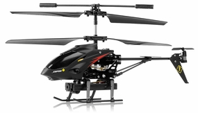 WL Toys Camstryker 3.5 Channel Camera Helicopter Ready to Fly RC Remote Control Radio