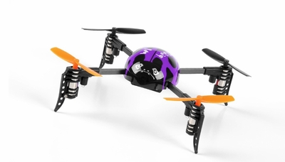 WL Toys Mini RC Beetle V939 Quadcopter 4 Channel 2.4Ghz Super Mini (Purple)