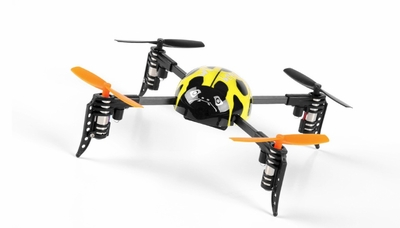 WL Toys Mini RC Beetle V939 Quadcopter 4 Channel 2.4Ghz Super Mini (Yellow)