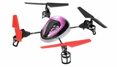 WL Toys Mini UFO Force V949 Quadcopter 4Ch 2.4ghz (Purple) RC Remote Control Radio