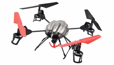 WL Toys RC 4 Channel Quadcopter  V999 Future Battleship Crane Basket RC Remote Control Radio