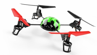 WL Toys  RC Beetle V929 Quadcopter 4 Channel 2.4Ghz (Green)