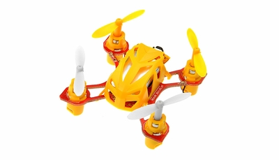 WL Toys V272 2.4G 4 Channel 6 Axis GYRO Nano RC Quadcopter RTF (Yellow)