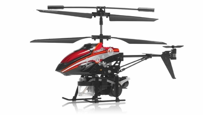 WL Toys V757 Bubble Master Co-Axial 3.5 Channel RC Helicopter (Red)