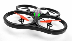 WLtoys V333 Headless Mode 2.4G 6 Axis RC Quadcopter RTF w/ Build in Camera (Green)