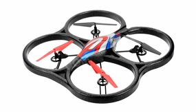 WLtoys V333 Headless Mode 2.4G 6 Axis RC Quadcopter RTF (Red)