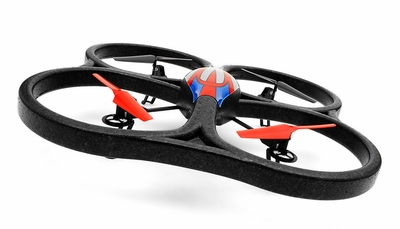 WLtoys V333 Mode 2.4G 6 Axis RC Quadcopter RTF w/ Build in Camera (Red)