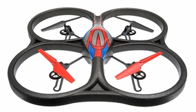 WLtoys V333 UFO Drone 6 Axis Gyro Headless Mode Quadcopter Drone 2.4ghz RTF  (Red)