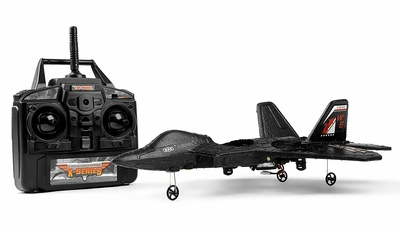 XINXUN X-31 2.4GHz Radio Control 4.5-channel Spacecraft F-22 Stealth Fighter